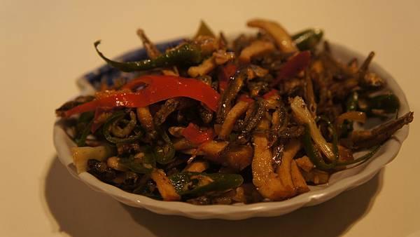 小菜 豆干小魚