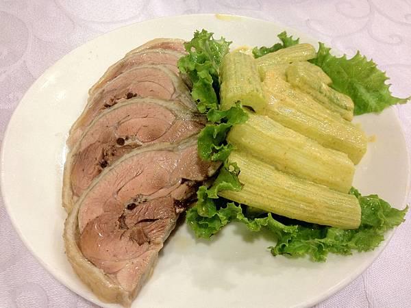 芥末芹菜&鹽焗雞