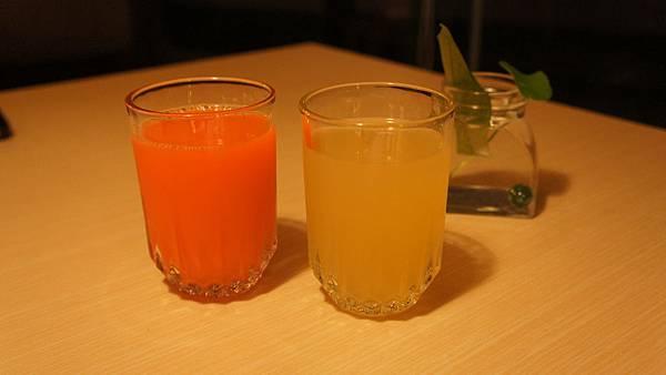 蔬果汁&蘋果汁