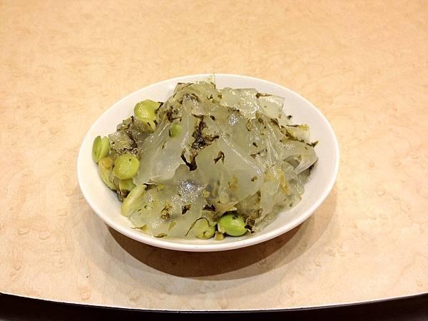 小菜毛豆粉皮