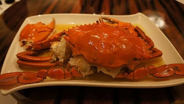 花雕蒸斯里蘭卡大公蟹