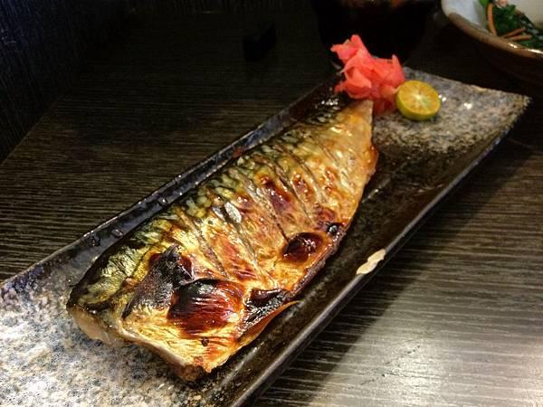 烤青花魚270元