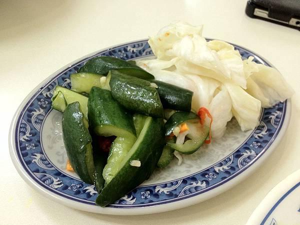 小黃瓜&泡菜30元