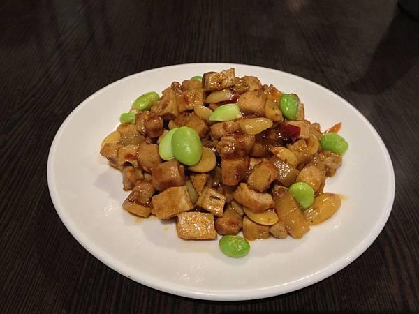 小菜-豆乾毛豆