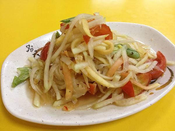 小菜--涼拌青木瓜絲