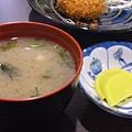 味增湯&醃蘿蔔