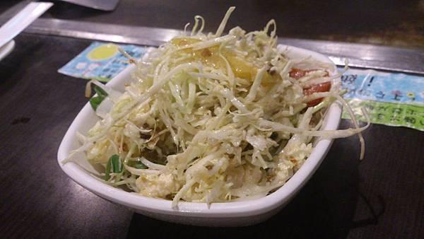 脆辣芝麻豆腐沙拉