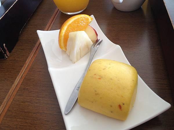 小饅頭&水果