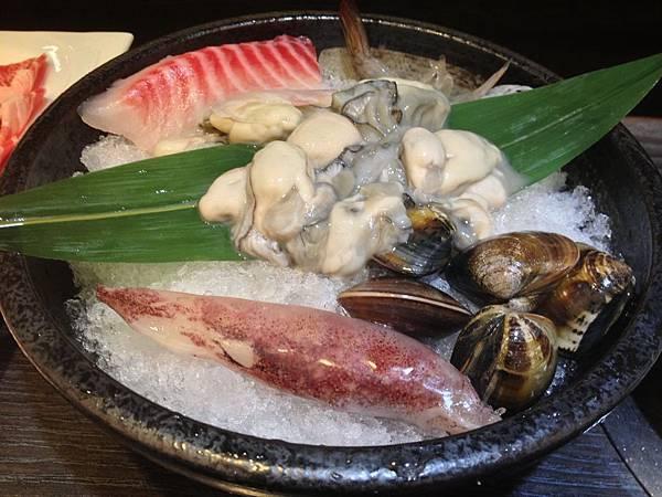 魚片&鮮蚵&鮮蝦&小卷&蛤蠣