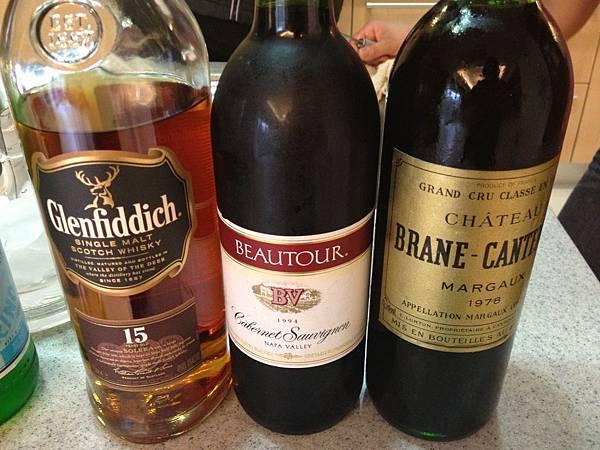 紅酒&威士忌