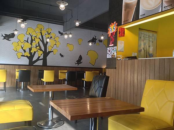 餐廳座位區