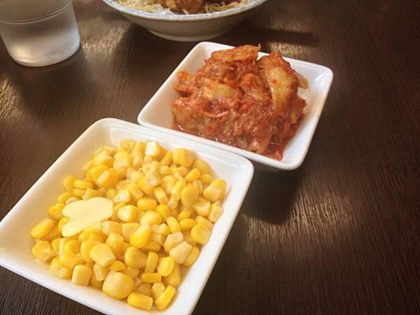 泡菜&奶油玉米