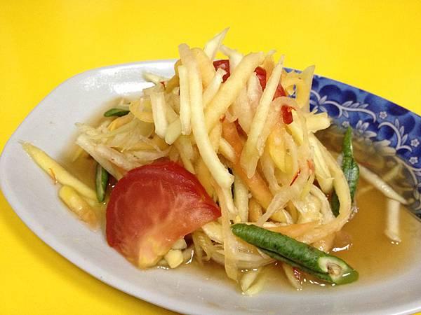 小菜--青木瓜絲