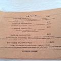 主餐pizza類menu