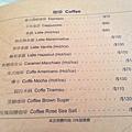 咖啡menu