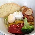 雞排時蔬蛋沙拉
