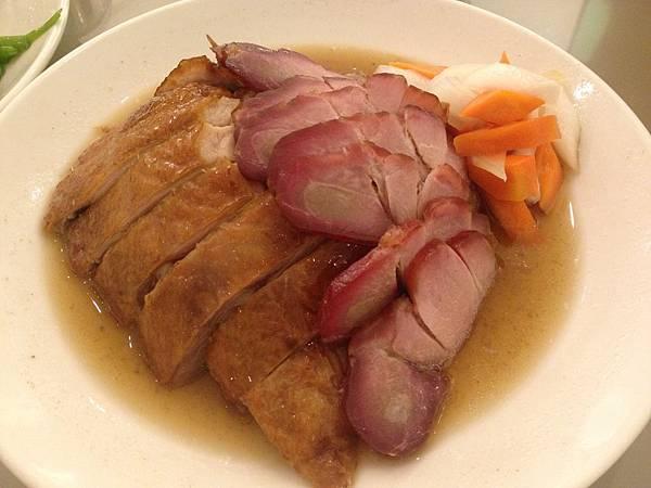 燒味雙拼盤(烤鴨&叉燒)