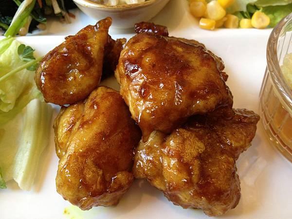 咖哩風味照燒雞
