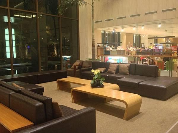 一樓大廳休憩區