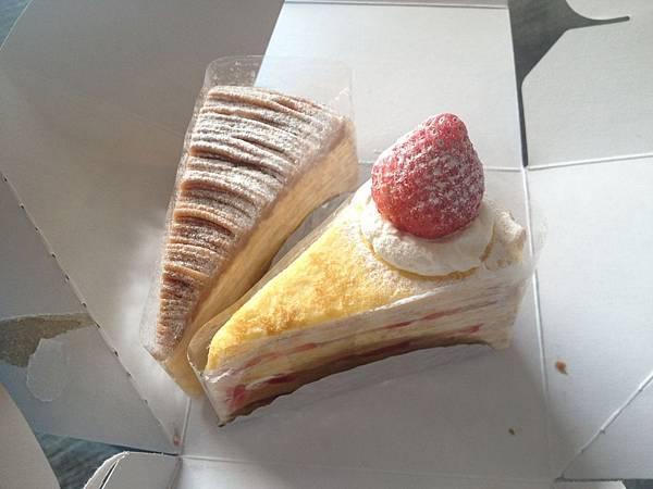 栗子千層&草莓千層
