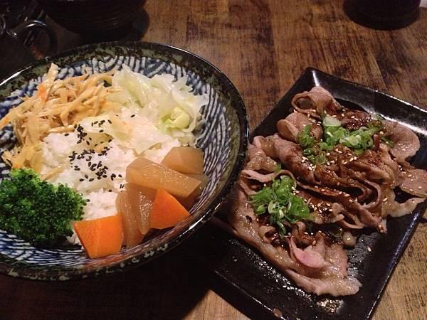 牛五花燒肉餐
