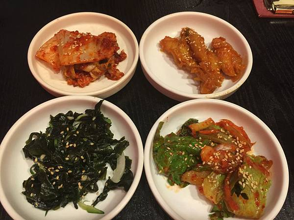 泡菜&甜不辣&海帶芽