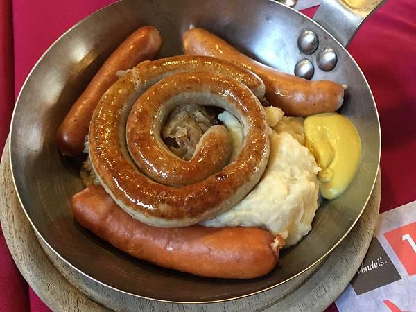 德式香腸綜合盤
