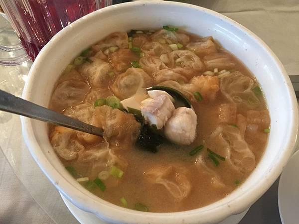 味增鮮魚湯