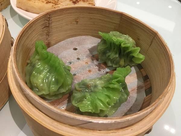 鮮蝦韭菜餃