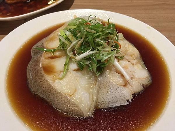 蔥油蒸鱈魚