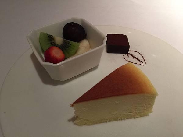水果跟起司蛋糕
