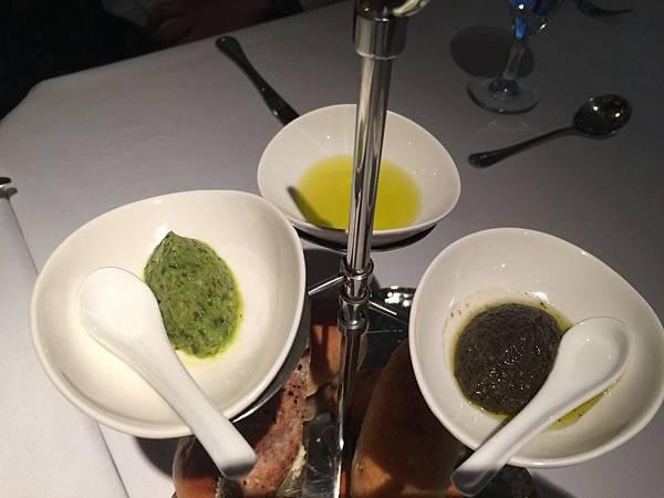 青豆泥&橄欖油&橄欖醬