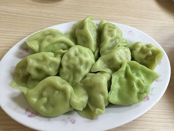 翠玉白菜水餃