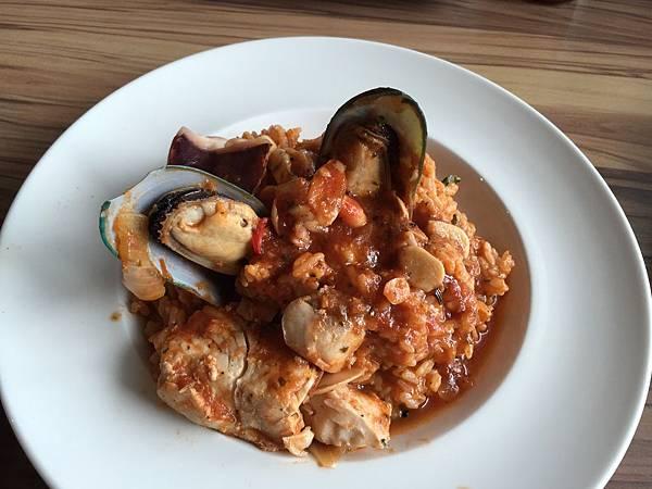 義大利海鮮燉飯