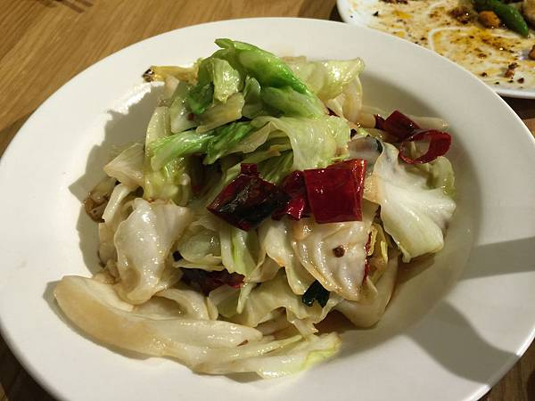 熗鍋高麗菜