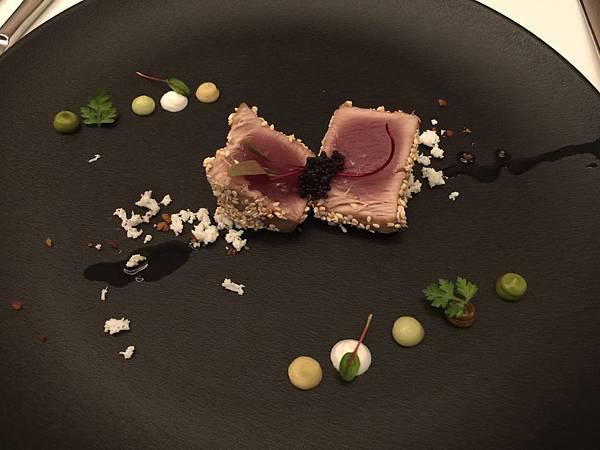 前菜-香煎鮪魚
