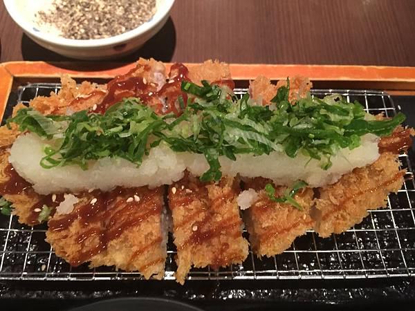 味噌蘿蔔泥豬排