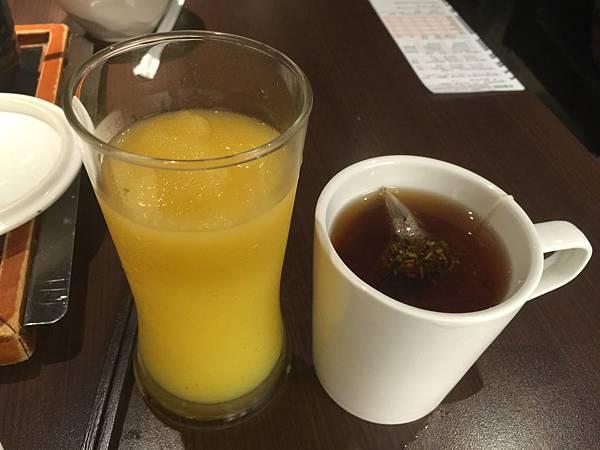 金芒冰沙&檸香國寶茶