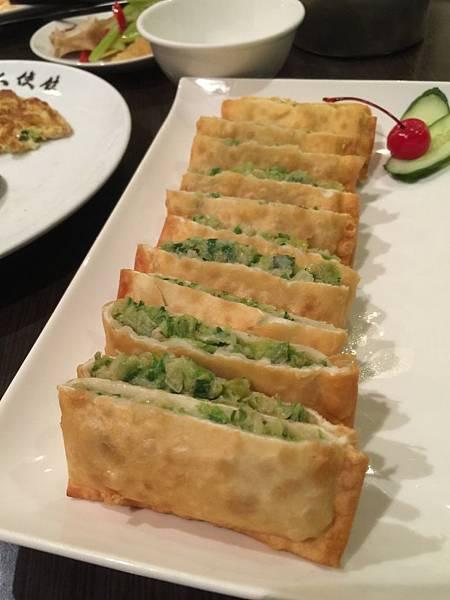 鮮菜蝦鍋餅