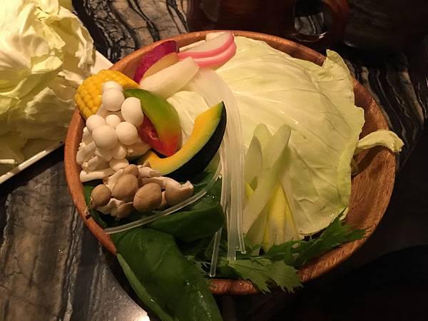 單人蔬菜盤
