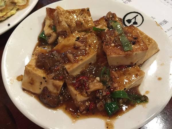 蔬食套餐之紅燴豆腐