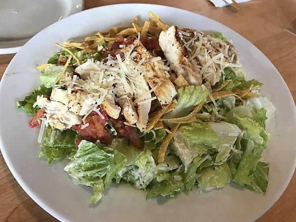 德州雞肉凱撒沙拉