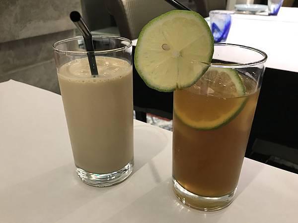 泰式奶茶&翡翠檸檬綠茶