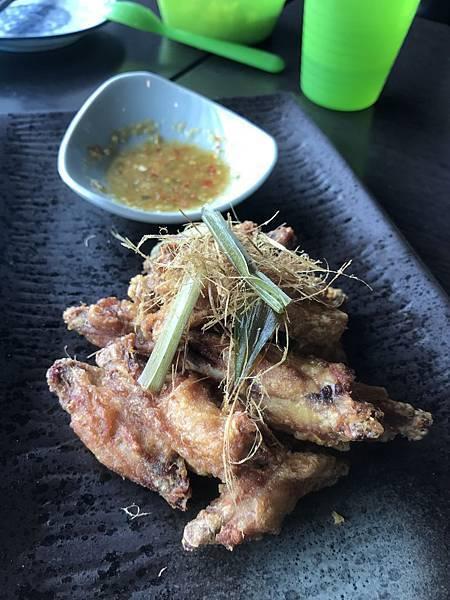 香茅草炸雞翅
