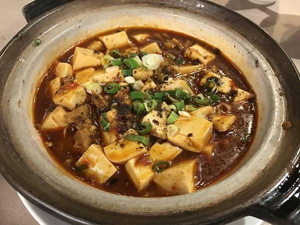 麻婆砂鍋豆腐
