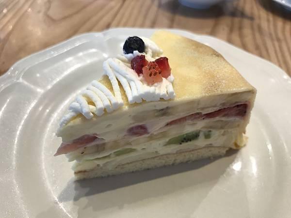 法式千層水果蛋糕