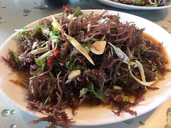 涼拌海菜150元