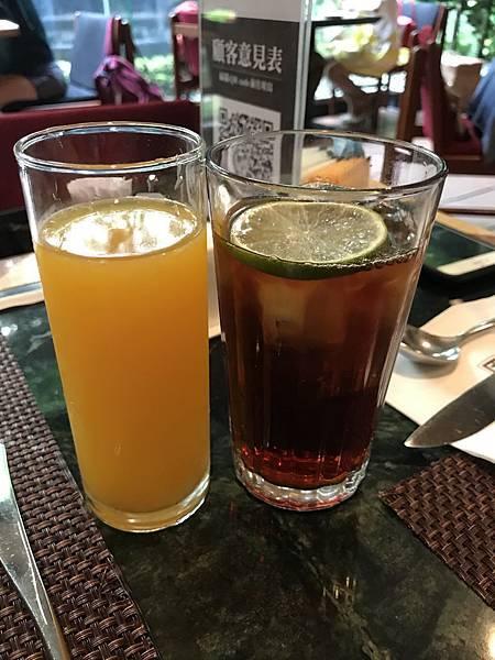 柳橙汁&檸檬紅茶