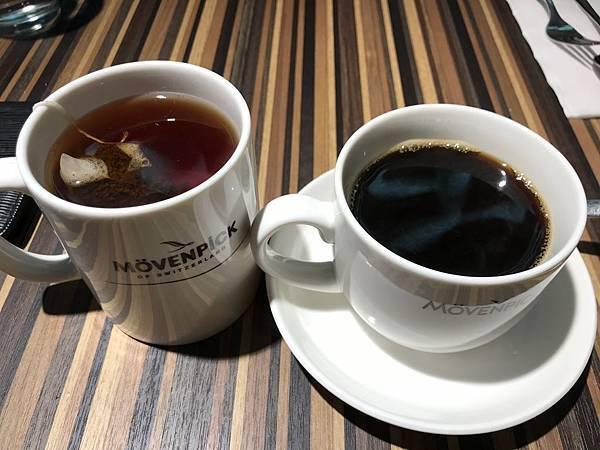 熱紅茶&熱咖啡
