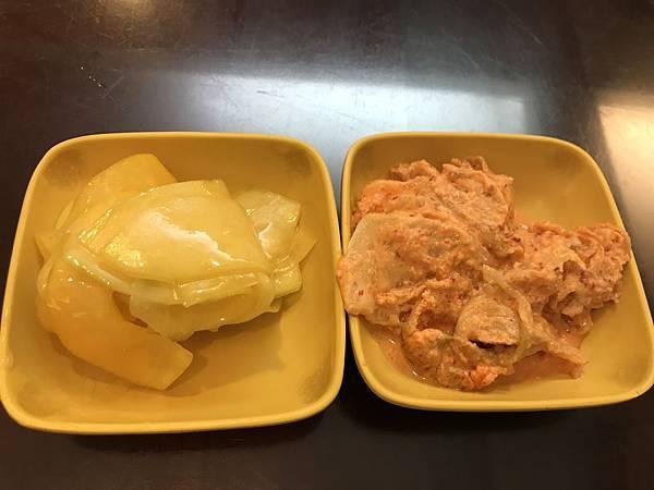 煙漬青木瓜&黃金泡菜